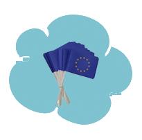 bulle drapeau europe